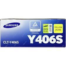 Оригинальный тонер-<b>картридж</b> Samsung <b>CLT</b>-<b>Y406S</b> (желтый ...
