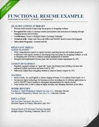 resume format guide  chronological  functional   amp  combofunctional resume format example