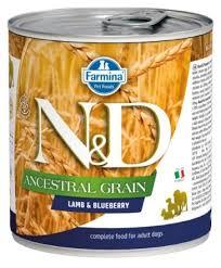Корм для собак <b>Farmina Консервы N&D</b> Ancestral Grain ягненок и ...