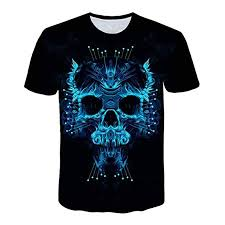 Buy Fineser Men Clothes <b>Mens 3D Creative</b> Print Short Sleeve T ...