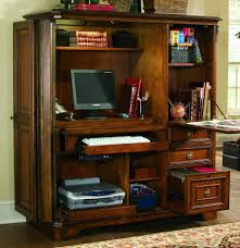 Computer Desk Cabinet Hooker Furniture Home Office Brookhaven Computer Cabinet 281 10 309