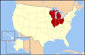 Centro Noreste de Estados Unidos