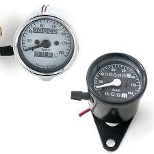 <b>DC 12V</b> Universal <b>Motorcycle Odometer Speedometer</b> Tachometer ...