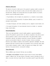 Research methodology of nestle and cadbury chocolates