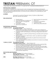 unforgettable occupational therapist resume examples to stand out    occupational therapist resume sample
