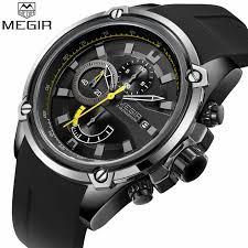 <b>Relogio Masculino MEGIR Men</b> Watch Top Luxury Brand ...