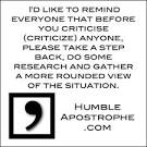 criticise