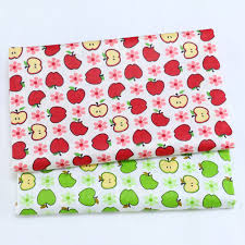 Printed Apple <b>Baby</b> cotton Patchwork <b>Cloth</b>,100% <b>Cotton Twill</b> ...