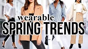 10 <b>Spring FASHION</b> TRENDS To Actually Wear in <b>2020</b>! - YouTube