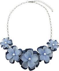 Bocar Statement Flower Choker Necklace for Women ... - Amazon.com
