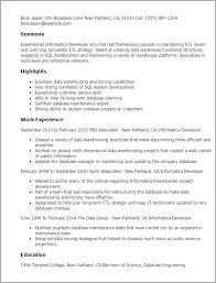 professional informatica developer templates to showcase your    resume templates  informatica developer