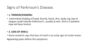 Image result for parkinsons symptoms