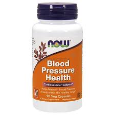 NOW (НАУ Фудс) Blood Pressure Health капсулы 660 <b>мг 90</b> шт ...