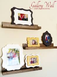 chic home decor gallery wall frames