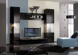 glass bedroom furniture rectangle shape wooden cabinets: luxury modern furniture living room interior wall cabinet idea with wall mounted wooden chocolate clear glass unique shape tv rack cabinet and freestanding