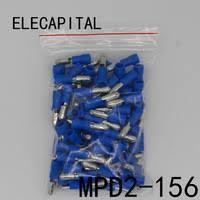 MPD2-156 MPD2.5-156 <b>100PCS</b> Bullet Shaped male Insulating...