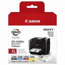 Комплект <b>картриджей Canon PGI</b>-<b>2400XL</b> Bk/C/M/Y Multi Pack ...