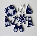 Декоративные элементы для открытки