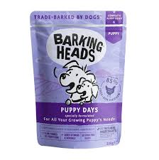 "Влажный корм <b>Barking Heads</b> для щенков ""<b>Щенячьи</b> деньки"" 300г"