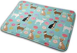 <b>Chihuahua Donuts</b> Sweet Treat Dog Carpet Non Slip Welcome ...
