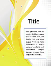 16 Creative Cover Page Design Templates in Word Professional-elegant-lines-cover-page