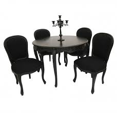 black and white dining table set: black dining table set modern black and white dining table and