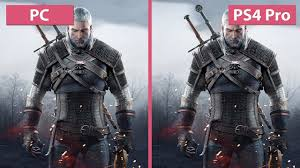 Witcher <b>3</b> – <b>PC</b> MAX vs. PS4 Pro Patch 1.50 / 1.51 4K UHD <b>Frame</b> ...