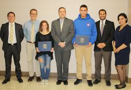 winning essays honor local iers lost at hindenburgh line from left deputy director of orange county veterans service agency domenick cocchiara participation in government teacher jonathan redeker second place