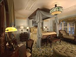 style blue vintage style bedroom