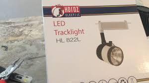 Установка <b>трекового Светильника Horoz</b> HL822 L - YouTube