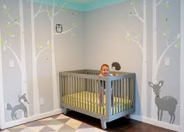 baby nursery decor deer ideas fox jungle baby nursery cool bedroom wallpaper ba