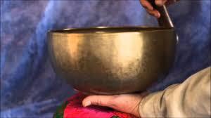 Large <b>Antique Tibetan</b> Singing Bowl #L130 Note A - YouTube