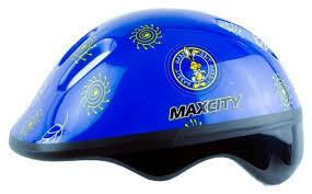Купить <b>Шлем</b> д/роллеров <b>Max City Baby</b> Litle Rabbit, Синий (S) по ...