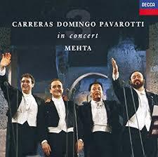 <b>Carreras</b> · <b>Domingo</b> · <b>Pavarotti</b>