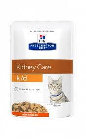 <b>Hill's</b> Prescription Diet k/d Feline <b>влажный диетический корм</b> для ...