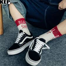 KEP Men <b>Women Harajuku</b> Street Socks Hip Hop Casual Creative ...
