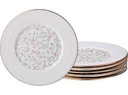 <b>Набор</b> тарелок десертных <b>Lefard Фабьен</b> 19см 6 шт фарфор ...