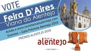 VIANA DO ALENTEJO: FEIRA D'AIRES NOMEADA PARA PRÉMIOS MAIS ALENTEJO 2019