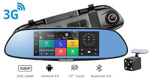 <b>Recxon ASSIST V1 видеорегистратор</b> зеркало (Android 5.0, 3G ...