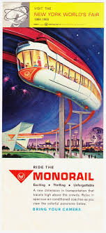 best images about when i was younger lakes flyer for amf monorail at the 1964 world s fair in new york city