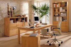 wood interior workspace home office ideas wooden office interior worke fascinating home office boss workspace home office