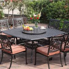 black wrought iron patio furniture with cushions and lazy boy outdoor furniture on cozy hexagonal pavers black wrought iron patio