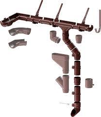 Водосточные системы Дёке - купить недорого водостоки для дома