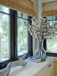 Large Kitchen Window Treatment Large Kitchen Window Treatments Hgtv Pictures Ideas Hgtv