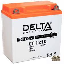 Delta АКБ DELTA MOTO CT 1210 AGM YB9A-A (10Ач п/п) | www ...