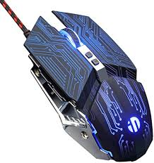 Silent Click <b>USB</b> Optical Wired PC Laptop Computer <b>Gaming</b> 6 ...