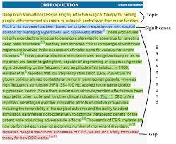 The images below this one show a typical Review Introduction in medicine  It is brief and leads the reader quickly to where the information in the paper