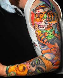 <b>New School Tattoos</b>: Meanings, Artists & Tattoo Designs