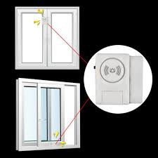 【OMB】<b>1pc Wireless</b> Home <b>Door Window</b> Entry Burglar Security ...