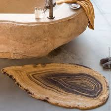 ideas bathroom rugs pinterest wood ambra bath rug made of  cotton is a fusion of agate and